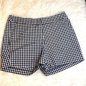 Willi Smith Black White Checkered Shorts Size 10
